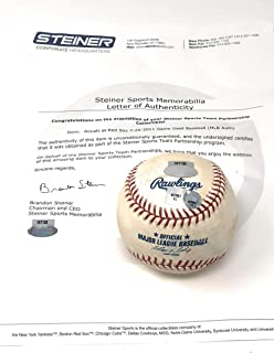 Boston Redsox 7/25/11 Vs Kansas City Royals Game Used MLB Baseball (Actually Used In This MLB Game) Steiner Sports Certified ****BLOWOUT SALE****