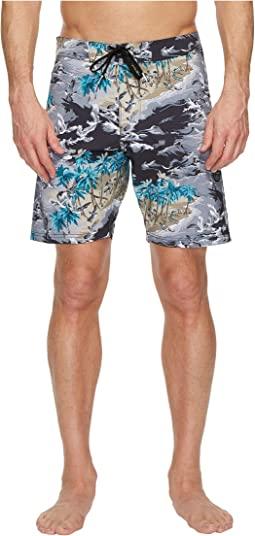 VISSLA - Islander Four-Way Stretch Boardshorts 18.5