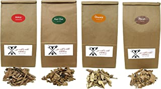 Jax Smok'in Tinder Premium BBQ Wood Chips for Smokers Variety Pack - Our Most Popular Medium...