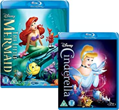 The Little Mermaid - Cinderella - Walt Disney 2 Movie Bundling Blu-ray