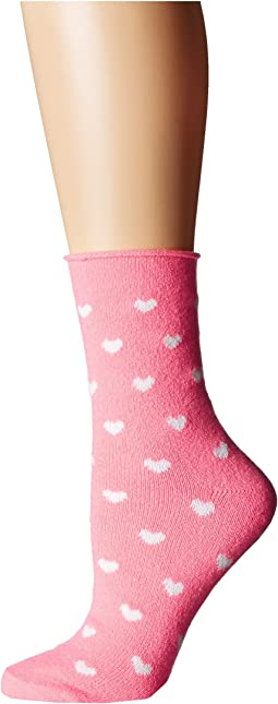 Plush - Thin Rolled Fleece Socks