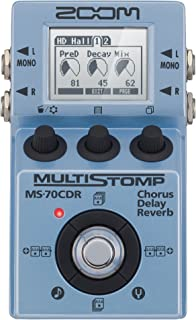 Zoom MultiStomp Chorus/Delay/Reverb Pedal (ZMS70CDR)
