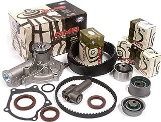 Fits 89-92 Eagle Mitsubishi Plymouth 2.0 DOHC 16V 4G63 4G63T Timing Belt Kit w/Hydraulic Tensioner GMB Water Pump