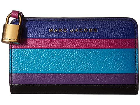Marc Jacobs The Grind Color Blocked Compact Wallet
