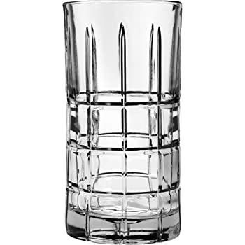 Anchor Hocking Manchester Drinking Glasses, 16 oz (Set of 4), Clear, 16 Ounce
