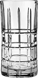 Anchor Hocking 68332L8 Manchester Drinking Glasses, 16 oz (Set of 4), Clear