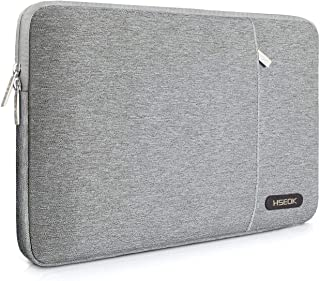 HSEOK 15.6-Inch Laptop Case Sleeve, Compatible with Most 15.6-Inch Laptop Dell/Asus/Acer/HP/Toshiba/Lenovo, Environmental-Friendly Spill-Resistant Case- Gray
