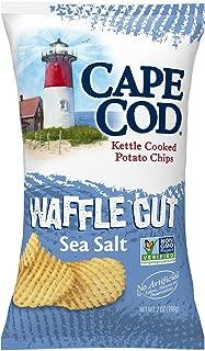 Cape Cod Waffle Cut Sea Salt 7 oz. 12 per case