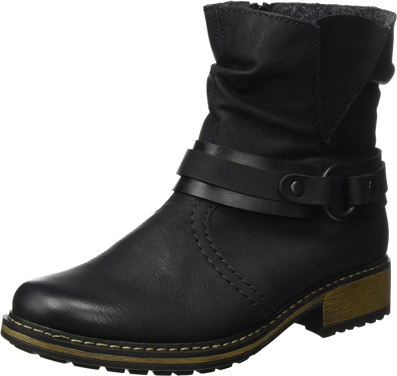 Rieker Women Ankle Boots black, (SCHWA SCHW) Z6881-00