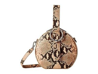 Rebecca Minkoff Kate Circle Bag (Rosewood) Cross Body Handbags