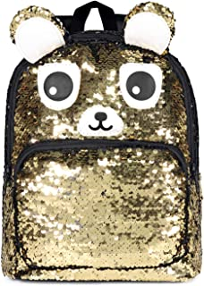 Mini Sequin Backpacks Purse for Girls Glitter Lightweight Cute Daypack