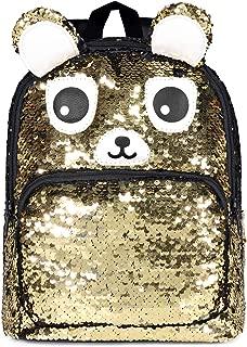 Mini Sequin Backpacks Purse for Girls Glitter Lightweight Cute Daypack