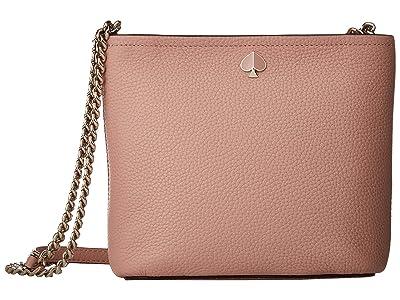 Kate Spade New York Polly Small Convertible Crossbody (Flapper Pink) Cross Body Handbags