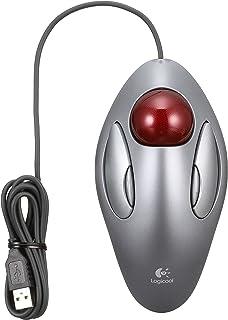 Logicool ロジクール TM-150r トラックマン マーブル 有線 マウス トラックボール 左右対称型 USB 4ボタン 国内正規品 3年間無償保証