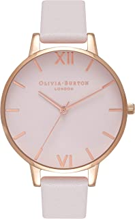 Olivia Burton Womens Quartz Watch, Analog Display and Leather Strap OB16BD95