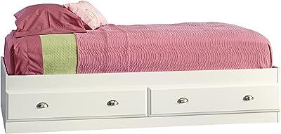 Sauder Shoal Creek Mate's Bed, Twin, Soft White finish