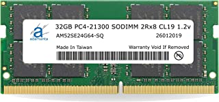 Laptop Memory Upgrade for MSi GS60 6QC 231XFR Ghost DDR4 2133 PC4-17000 SODIMM 1Rx8 CL15 1.2v Notebook RAM Adamanta 16GB 2x8GB