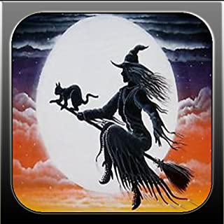 Halloween Haunted Witches in the Fantasy Style