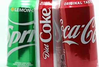 Beer Can Coverup Aluminum Sleeve, Coca Cola Soda Look Alike to Hide | 12 oz in Size | 2-Pack