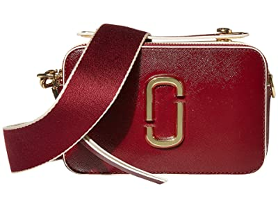 Marc Jacobs The Sure Shot Large Snapshot (Cabernet) Handbags
