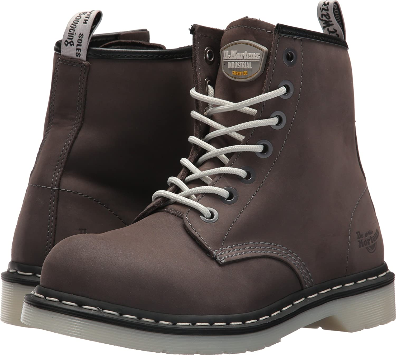doc martens work shoes steel toe