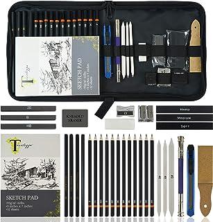 مجموعه هنرهای طراحی Tavolozza در کیف های ذخیره سازی نمونه کارهای هنری نرم و یک طرفه