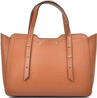Carla Ferreri Tote Bag For Women - Cognac