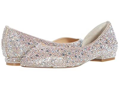 Blue by Betsey Johnson Reeve Flat (Champagne) Women