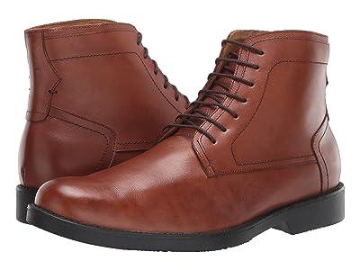 Massimo Matteo Plain Toe Boot (Whiskey) Men