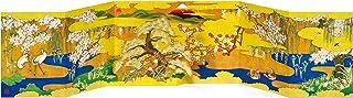 AAY46-1701 和風グリーティングカード/むねかた 立体 金箔 「花鳥図」(中紙・封筒付) 再生紙