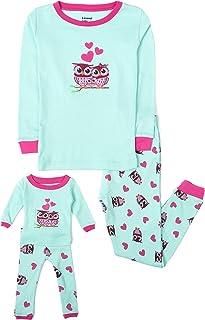 Leveret Kids & Toddler Pajamas Matching Doll & Girls...
