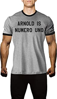 Arnold is Numero Uno Shirt from Arnold Schwarzenegger Pumping Iron Classic Movie