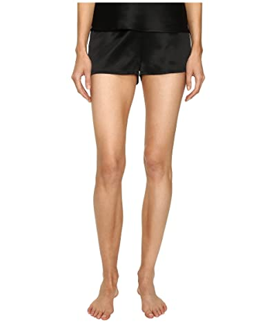 La Perla Silk Shorts (Black) Women