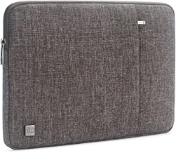 "DOMISO 12.5 Inch Water-Resistant Laptop Sleeve Notebook Carrying Case Bag for 13"" MacBook Pro Retina Display / 13"" MacBook Air / 12.9"" iPad Pro / 12.5"" Computers, Brown"