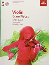 Violin Exam Pieces 2016-2019, ABRSM Grade 5, Score, Part & 2 CDs: Selected from the 2016-2019 syllabus (ABRSM Exam Pieces)