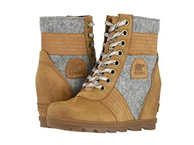 SOREL Lexietm Wedge (Camel Brown 1) Women