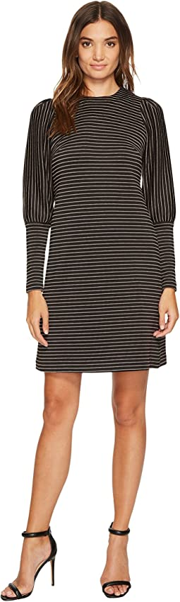 Donna Morgan - Leg of Mutton Sleeve Dress
