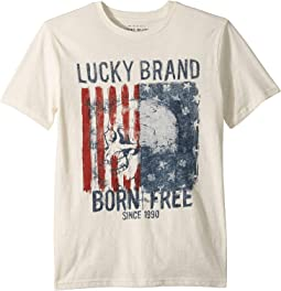 Born Free Short Sleeve T-Shirt (Big Kids)