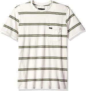 Brixton Men's Hilt Short Sleeve Washed Tailored Fit Pocket Knit Tee