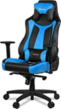 (Vernazza, Blue) - Arozzi Vernazza Series Super Premium Gaming Racing Style Swivel Chair, Blue