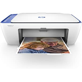 HP Deskjet 2630 Stampante Multifunzione a Getto di Inchiostro, Scanner e Fotocopiatrice, Wi-Fi, Wi-Fi Direct, App HP Smart, Bianco