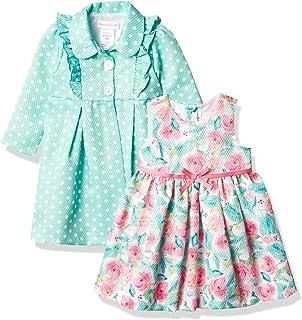 Bonnie Jean Girls' Coat and Floral Dress Set