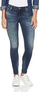 Armani Exchange Women's 5 Pocket Slim Pant, Indigo Denim