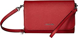 Saffiano Leather Wristlet/Wallet