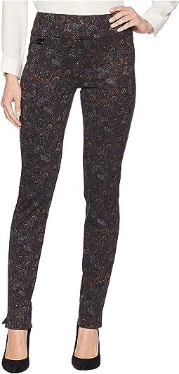 Boho Paisley Print Slim Pants