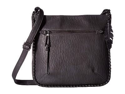 Jessica Simpson Camile North/South Crossbody (Slate) Cross Body Handbags