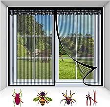 Magnetisch vliegenscherm deurvenster, insecten gordijn gaas klamboe sluit automatisch Ultra Seal eenvoudig te installeren,...