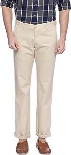 BASICS Tapered Fit Mojave Desert Ecru Stretch Trouser