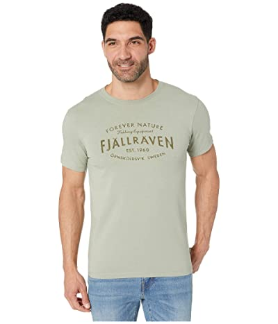 Fjallraven Est. 1960 T-Shirt (Sage Green) Men