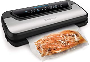 Vacuum Sealer Machine By Mueller | Automatic Vacuum Air Sealing System For Food Preservation w/Starter Kit | Compact Desig...